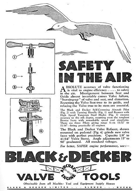 Black & Decker Aero-Engine Valve Refacer