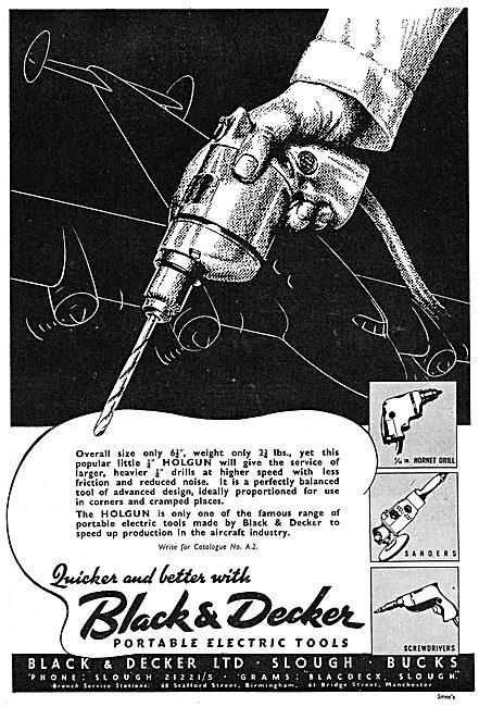 Black & Decker Holgun Drill