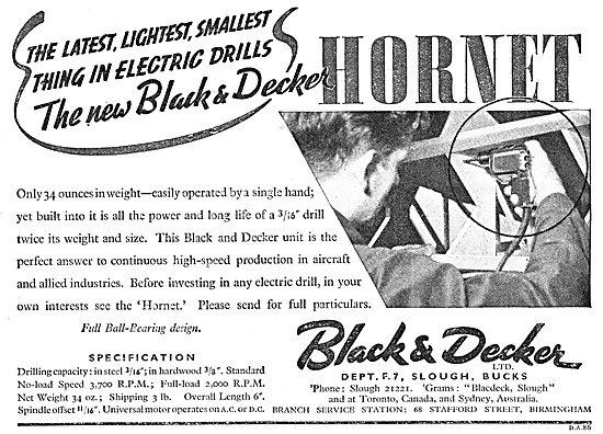 Black & Decker Hornet Electric Drill