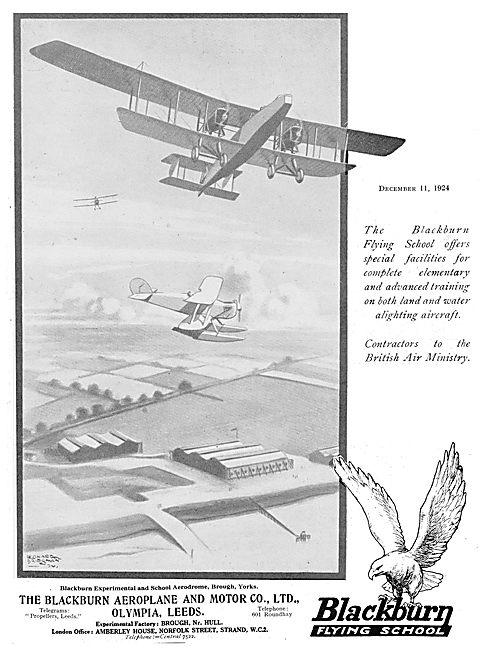 The Blackburn Flying School At Brough