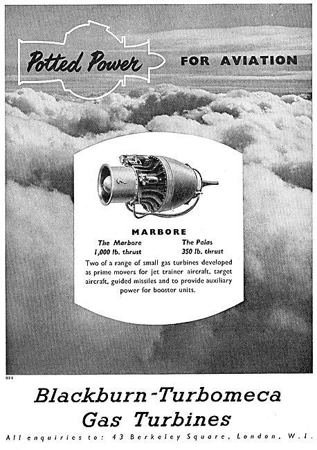 Blackburn-Turbomeca Marbore - Palas