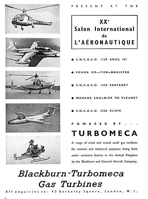 Blackburn-Turbomeca Gas Turbines