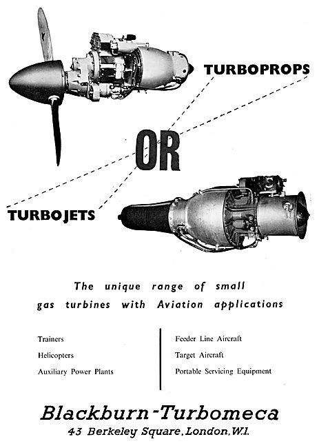 Blackburn - Turbomeca Gas Turbines