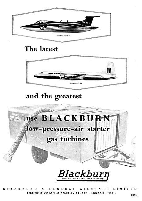 Blackburn Gas Turbine Low Pressure Air Starter
