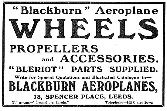 Blackburn Aeroplane Wheels And Accessories