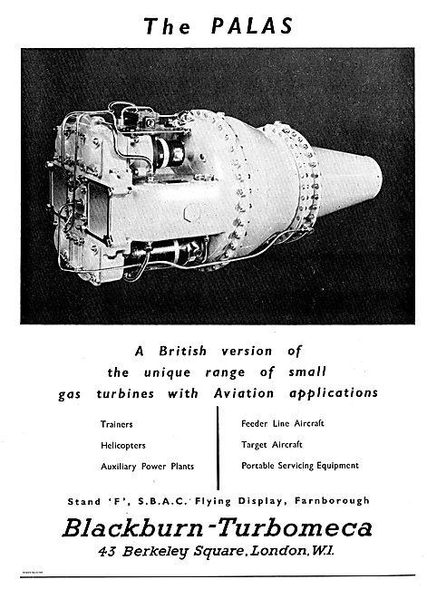 Blackburn-Turbomeca Palas Gas Turbine  APU