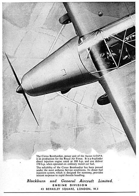 Blackburn CIrrus Bombardier