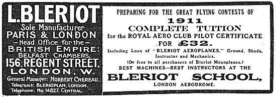 Bleriot Monoplanes - Aircraft & Tuition London Aerodrome