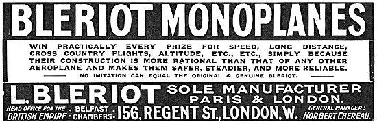Bleriot Monoplanes