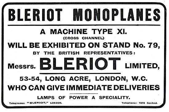 Bleriot Machine Type XI (Cross Channel) On Display