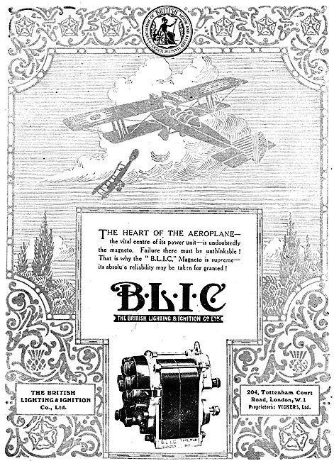 BLIC Aero Engine Magnetos