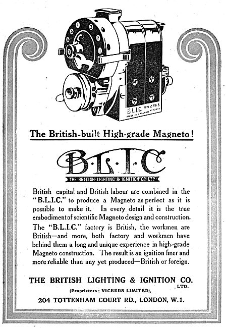 BLIC High Grade Aero Engine Magnetos