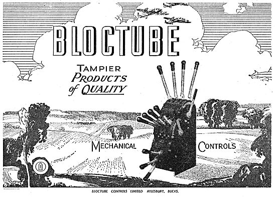 Bloctube Tampier Mechanical Controls For Aircraft