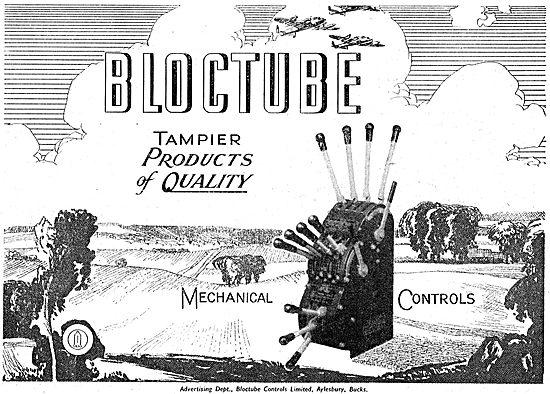 Tampier Bloctube Mechanical Controls - 1950