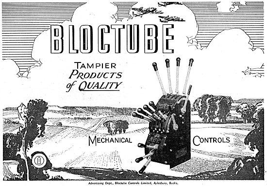 Bloctube Tampier Mechanical Controls