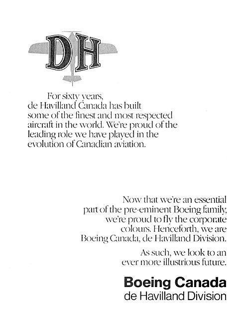 Boeing Canada de Havilland Division