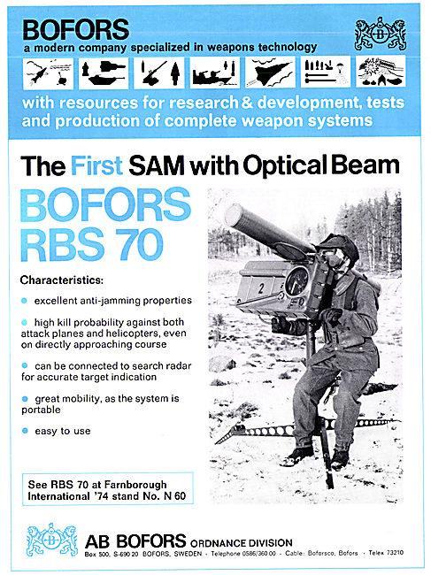 Bofors RBS 70 SAM