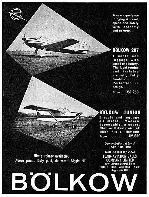 Bolkow 207 - Bolkow Junior