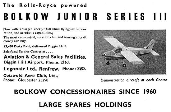 Bolkow Junior Series III