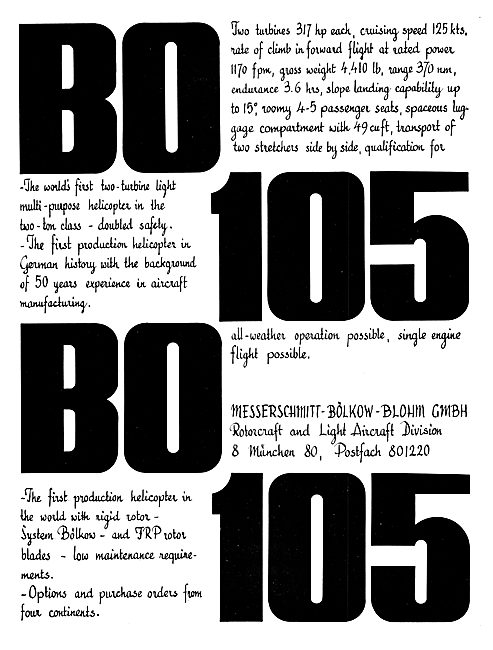 Bolkow BO 105