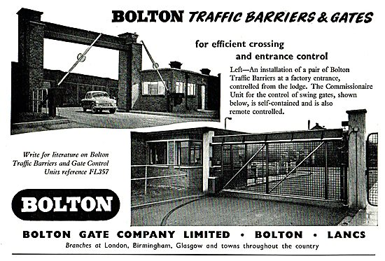 Bolton Traffic Barriers & Gate Control For Airports