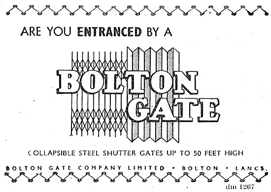 Bolton Gate Collapsible Steel Gates