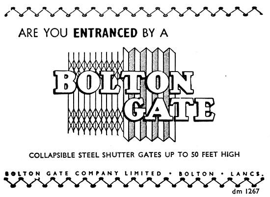 Bolton Gate Steel Shutter Gates