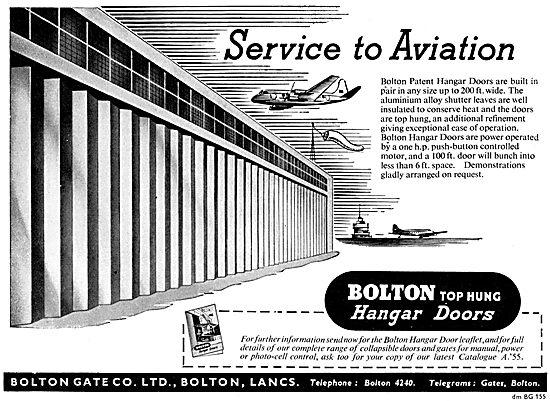 Bolton Gate Hangar Doors