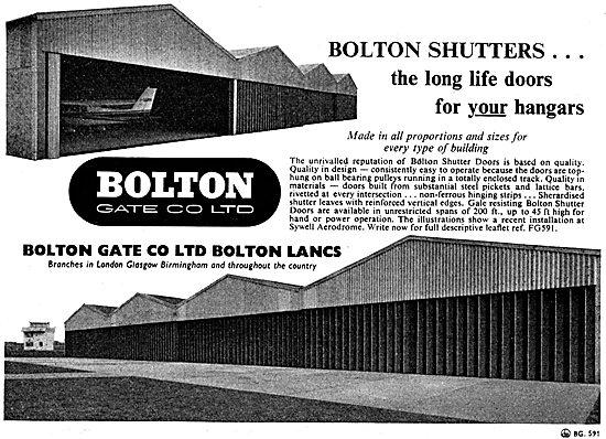Bolton Gate Company - Hangar Doors & Shutters