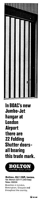Bolton Gate Folding Doors For Hangars & Large Buildings