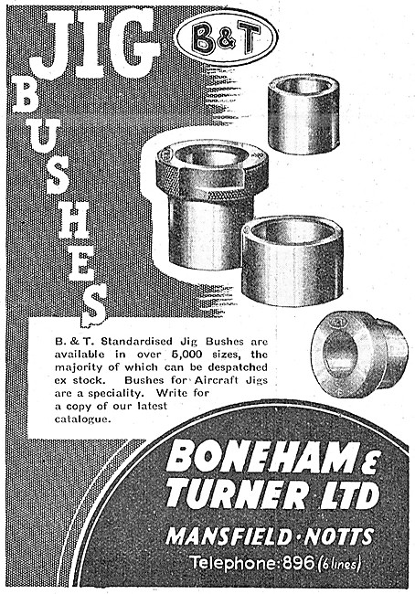 Boneham & Turner Jig Bushes