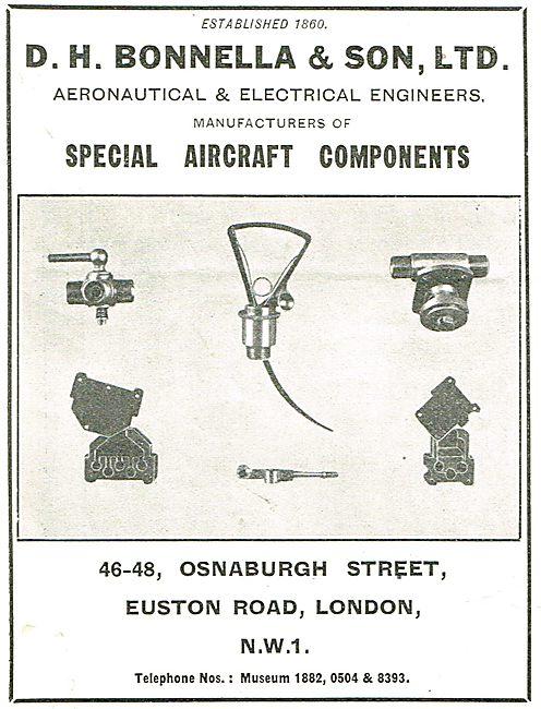 D H Bonella Special Aircraft Components