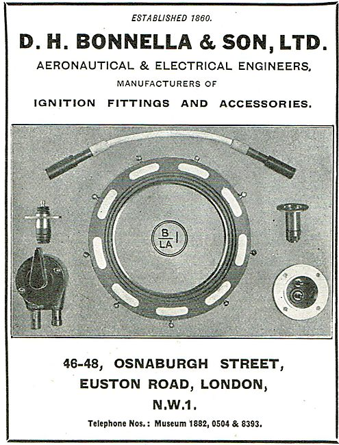 D H Bonella Aircraft Ignition Fittings & Accessories