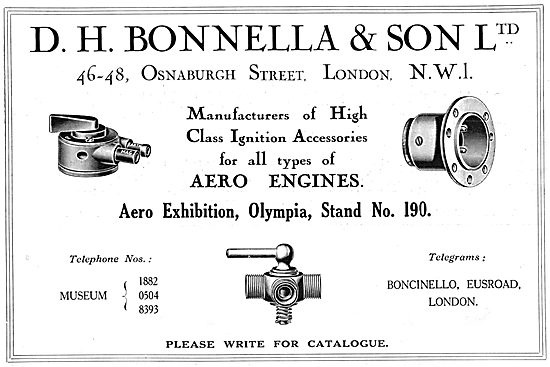 D.H.Bonella Aircraft Ignition Fittings & Electrical Accessories