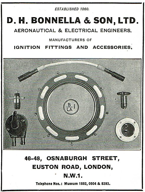 D H Bonella - Aeronautical & Electrical Engineers