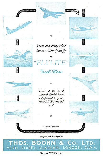 Boorn Pipeline Couplings & Elbows. FLYLITE FLYLINK