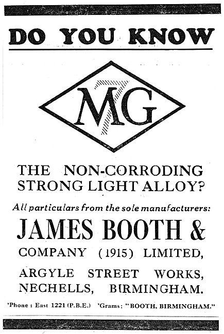 James Booth MG Alloys