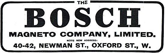 The Bosch Magneto Company