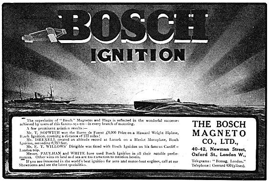 Bosch Magnetos - Bosch Aero-Engine Ignition Components