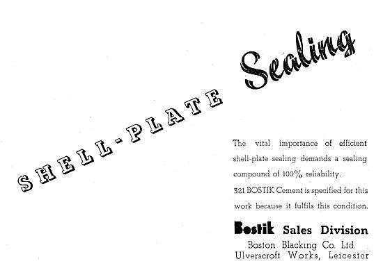 Bostik Sealants, Adhesives & Cements