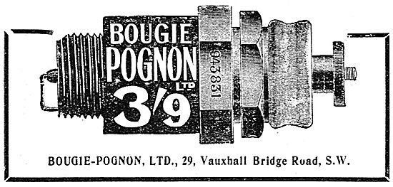 Bougie-Pognon Aero Engine Spark Plugs