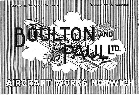 Boulton & Paul - Aircraft Works Norwich
