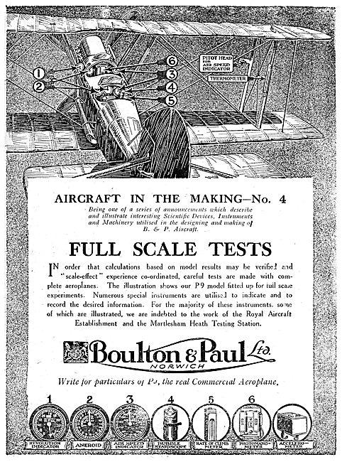 Boulton & Paul P9