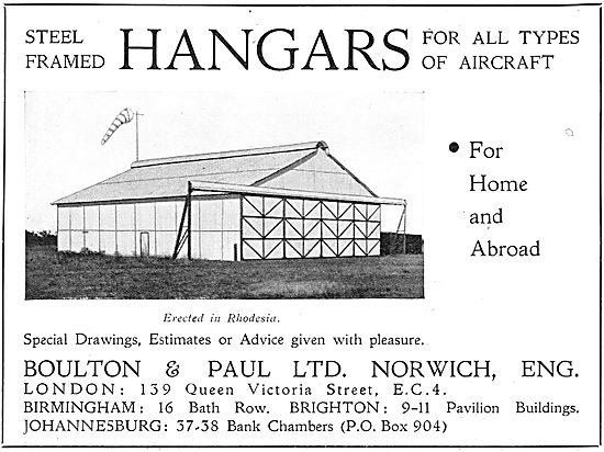 Boulton & Paul - Aircraft Hangars