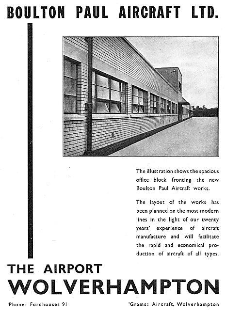 Boulton & Paul - Aeroplane Hangars At Wolverhampton Airport