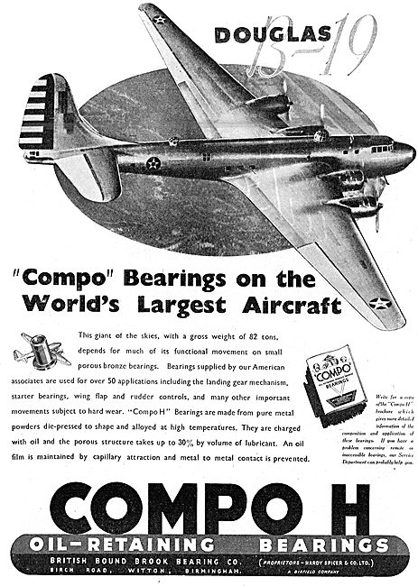 British Bound Brook COMPO H Bearings