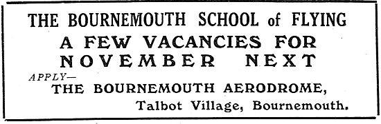 Bournemouth School Of Flying