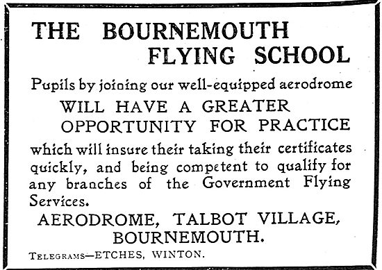 Learn To Fly At Bournemouth With The Bournemouth Flying School