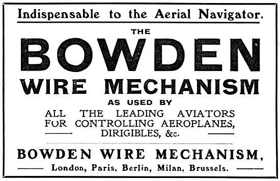 Bowden Wire Mechanism
