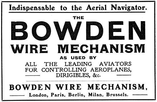 Bowden Wire.Mechanism